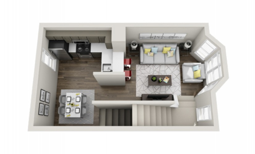 Available One And Two Bedroom Apartments In Atlanta Ga Townhouse Atlanta