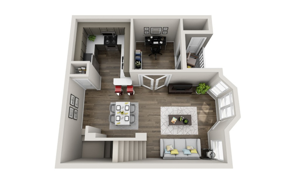 Exclusive Floorplan Floor 2