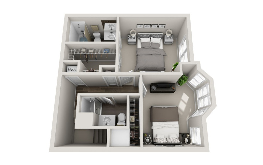 Exclusive Floorplan Floor 3