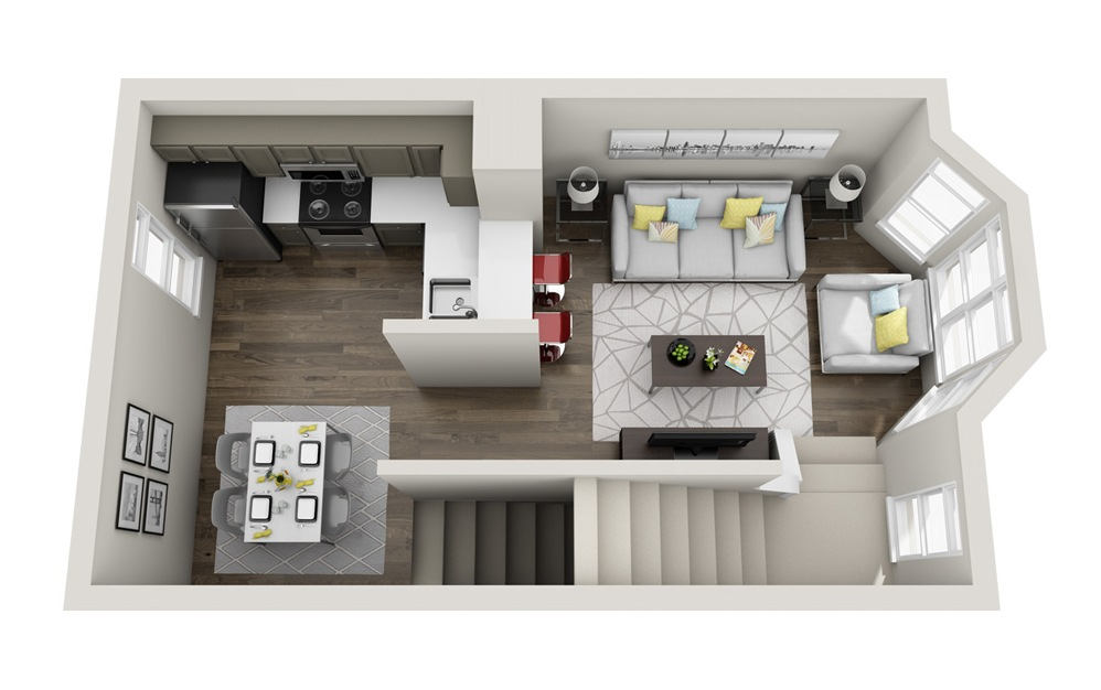 Premiere Floorplan Floor 2