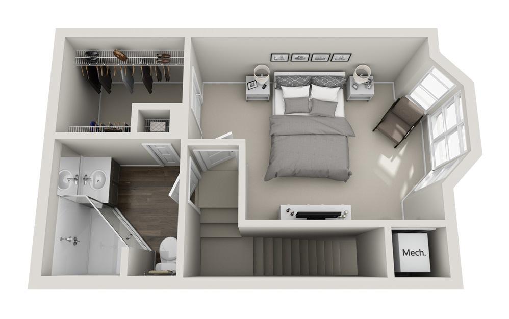 Premiere Floorplan Floor 3